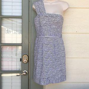 BCBGMAXAZRIA one shoulder size 4 dress
